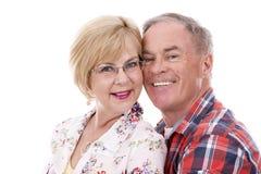 Zufällige kaukasische Paare Lizenzfreies Stockfoto