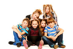 Zufällige Kinder Lizenzfreies Stockfoto