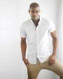 Zufällige männliche Mode lizenzfreie stockfotos
