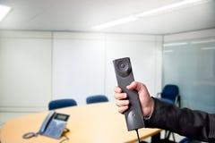 Zufälliges Geschäft Person Phoning Stockbild