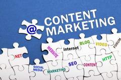 Zufriedenes Marketing-Konzept lizenzfreies stockfoto