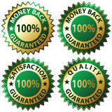Zufriedenheit garantiert Stockfotos