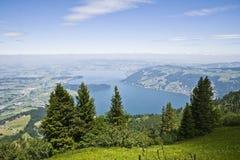 zug озера Стоковая Фотография