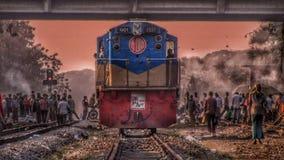 Zug in Asien lizenzfreies stockfoto