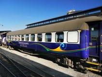 Zug, Bahnhof, Neuseeland Lizenzfreie Stockfotos