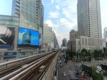Zug, Bangkok-Zeitspanne stock video