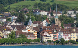 Zug cityscape Stock Photos