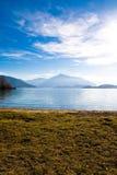 zug de la Suisse de lac Photos libres de droits