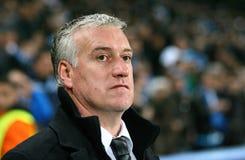 Zug Didier Deschamps Olympique De-Marseilles Lizenzfreies Stockbild