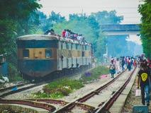 Zug für Bangladesch Stockfoto