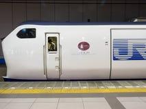 Zug-Fahrer in Osaka Stockfotos