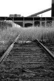 Zug geht nicht mehr hier stockfotografie