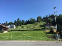 Zug-Landschaft Stockbilder