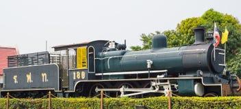 Zug-Maschinen-Dampf Stockfotografie