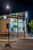 Zug Northamptons neue Stationats-Nacht Lizenzfreie Stockbilder