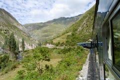 Zug - Peru Lizenzfreies Stockfoto