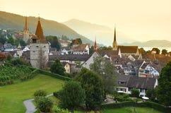 Zug, Suíça Fotografia de Stock