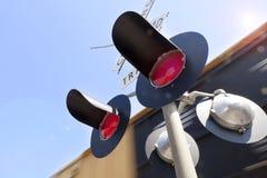 Zug-Unschärfe Stockbild