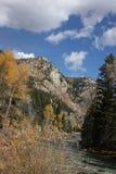 Zug von Durango zu Silverton Colorado Lizenzfreie Stockfotos