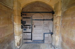 Zugang bei Gonville Caius Cambridge Lizenzfreies Stockfoto