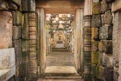 Zugang zum Schloss Lizenzfreie Stockbilder