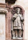 Zugang zur Abtei von Corvey, Deutschland Stockbild