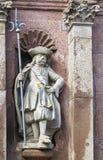 Zugang zur Abtei von Corvey, Deutschland Lizenzfreie Stockfotografie