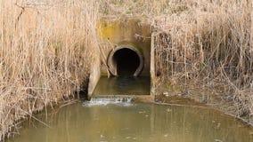 Zugang zwischen dem KanalBewässerungssystem von Reisfeldern stock video