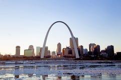 Zugangs-Bogen in St. Louis, Missouri Lizenzfreie Stockbilder