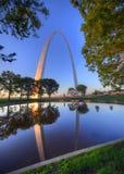 Zugangs-Bogen in St. Louis, Missouri Stockbilder