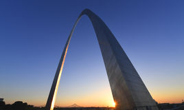 Zugangs-Bogen in St. Louis, Missouri Lizenzfreie Stockfotografie