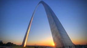 Zugangs-Bogen in St. Louis, Missouri Lizenzfreies Stockfoto