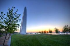 Zugangs-Bogen in St. Louis, Missouri Lizenzfreies Stockbild