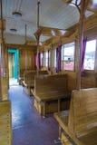 Zugausstellung bei Gara de Nord Stockfotos