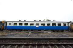 Zugblockwagen Stockfoto
