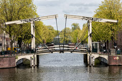 Zugbrücke in Amsterdam Lizenzfreies Stockbild