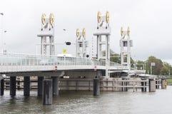 Zugbrücke bei Kampen Lizenzfreie Stockfotos
