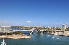 Zugbrücke im Fort Lauderdale Lizenzfreie Stockbilder