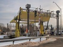 Zugbrücke in Phoenix stockfoto