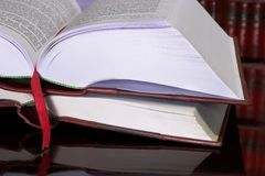 Zugelassene Bücher #10 Stockbilder