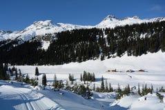 Zugertal Lechquellengebirge, Vorarlberg, Österrike Arkivfoton