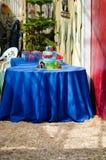 Zugkuchen für 2. Geburtstag Stockfoto