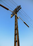Zuglinie Kabel Lizenzfreie Stockbilder