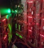 Zugriffskontrollsystem stockfoto
