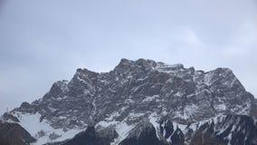 Zugspitze το χειμώνα απόθεμα βίντεο