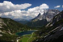 Zugspitze Fotografie Stock Libere da Diritti