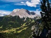 Zugspitze Fotografía de archivo libre de regalías