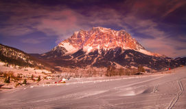 Zugspitze Fotografia de Stock