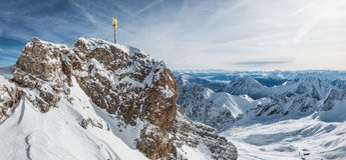 Zugspitze zdjęcia stock