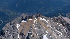 Zugspitze Photographie stock libre de droits